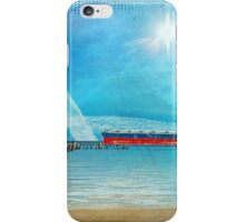 At the Edge iPhone Case/Skin