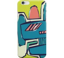 Multicoloured freestyle abstract iPhone Case/Skin