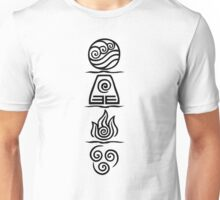 Four Elements Variant Unisex T-Shirt