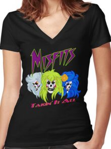 We Are The Mifits ! Women's Fitted V-Neck T-Shirt