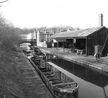Black Country Canal by Mark Baldwyn
