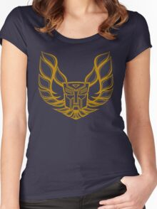 Hot Rod AutoBot Women's Fitted Scoop T-Shirt