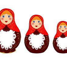 Russian toy, souvenir by i-ra888