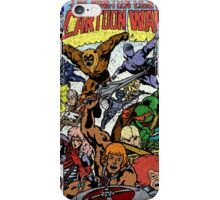 Cartoon Wars iPhone Case/Skin