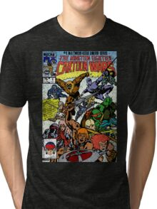 Cartoon Wars Tri-blend T-Shirt