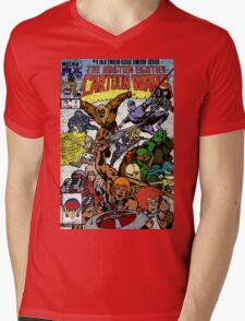Cartoon Wars Mens V-Neck T-Shirt