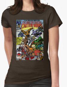 Cartoon Wars Womens Fitted T-Shirt