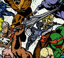 Cartoon Wars Sticker