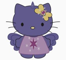 Twilight Sparkle Hello Kitty - Full Body Kids Clothes