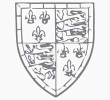 A Complete Guide to Heraldry - Figure 724 — John de Beaufort, Earl and Marquis of Somerset, son of John of Gaunt Arms subsequent to his legitimation Kids Tee