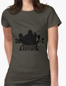 Robot mafia Womens Fitted T-Shirt
