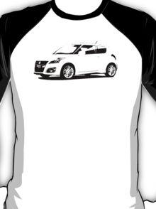 Suzuki Swift Sport 2012 T-Shirt