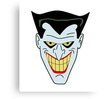 Joker The Animated Series Canvas Print