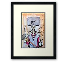 Sledge Head Framed Print