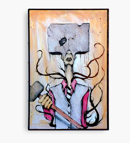 Sledge Head Canvas Print