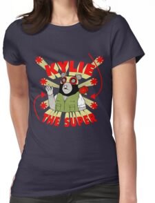 Kylie The Super Womens Fitted T-Shirt