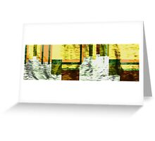 In The Fade Greeting Card