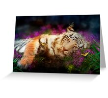 Tiger, Tiger Greeting Card