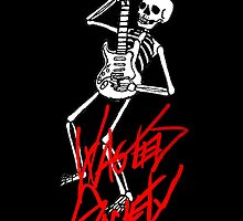 Wasted Guitar Skelly by Michael Keene