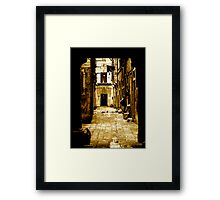 THE OTHER SIDE OF LIFE (UNDERSTANDING) Framed Print