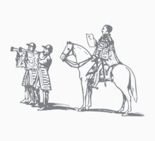 A Complete Guide to Heraldry - Figure 19 — Peace proclaimed at the Royal Exchange after the Crimean War One Piece - Short Sleeve