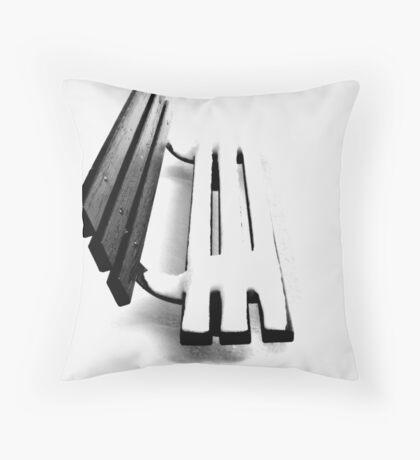 Seasonal lines Throw Pillow