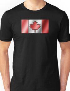 Canadian Flag 2 - Canada - Metallic Unisex T-Shirt