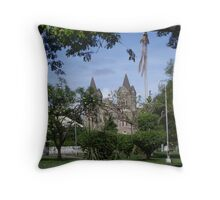 St Kitts Anglican Cathedral Throw Pillow