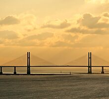 Second Severn Bridge by LAMPimages