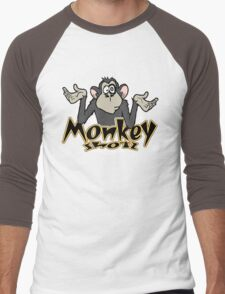 S h o o t T h e M o n k e y Men's Baseball ¾ T-Shirt