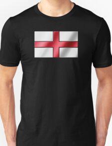 English Flag - England - Metallic T-Shirt