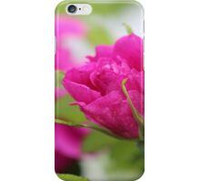 """""""Let the beauty and fragrance of a rose touch your soul."""" iPhone Case/Skin"""