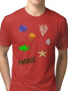 Maine Tri-blend T-Shirt