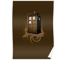 Tardis In Brown Poster