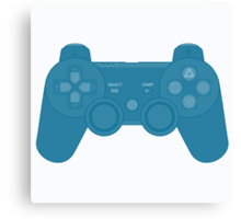 Playstation Controller Canvas Print