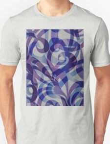 Floral Abstract  Unisex T-Shirt