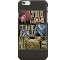 The good, the bad and the corgi iPhone Case/Skin