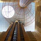 Atlanta Hotel Lobby by Darlene Virgin