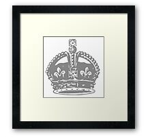A Complete Guide to Heraldry - Figure 642 — Royal Crown Framed Print