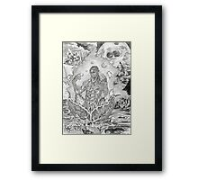 """""""The Blooming of One's Essence"""" Framed Print"""