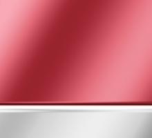 Indonesia - Indonesian Flag & Text - Metallic Sticker