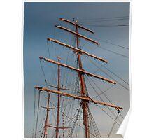 Ship Masts Poster