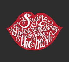 Saying Nothing by favete