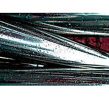 Feel The Steel Photographic Print