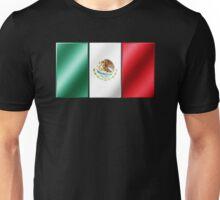Mexican Flag - Mexico - Metallic Unisex T-Shirt