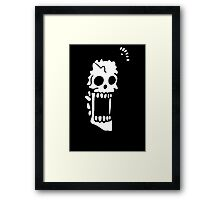 Brook Stawhat One Piece Anime Framed Print