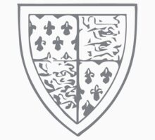 A Complete Guide to Heraldry - Figure 720 — Thomas of Woodstock, Earl of Buckingham, seventh son of Edward III One Piece - Long Sleeve