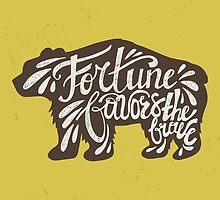 Brave Bear by favete
