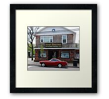 Back to the '60s - 1966 Volvo P1800S > Framed Print