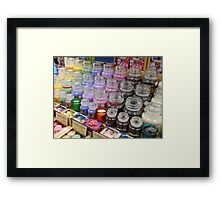 Aromatherapy Unchained - Yankee Candles Framed Print